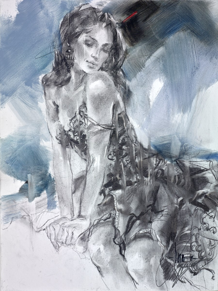 Since Heaven Knows When by anna razumovskaya -  sized 18x24 inches. Available from Whitewall Galleries